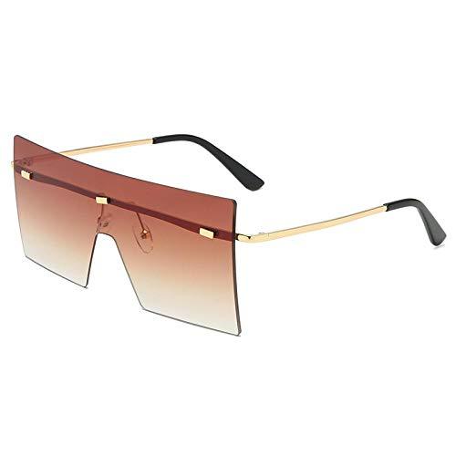 Gafas De Sol Polarizadas Gafas De Sol Grandes De Gran Tamaño De Moda Unisex para Mujer, Diseño Famoso, Gafas De Sol De Una Pieza De Moda, Gafas De Sol para Hombre Y Mujer, Gaf