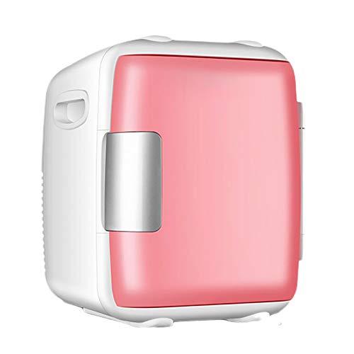yunyun 8L / 12L Refrigerador para Coche,Mini Nevera Pequeña Portátil,Nevera Portátil Eléctrica De Viaje,12 V/220 V para Coche Y Casa(Azul/Rosa)
