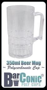 Selling 350ml Barconic Ranking TOP1 Polycarbonate Mug Beer