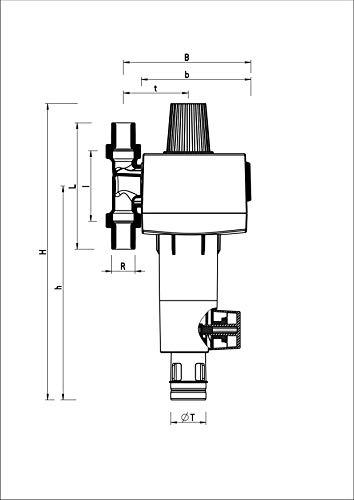 Buderus Rückspülfilter - 4