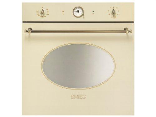 Smeg SFP805PO - Horno (79L, 3000W, Eléctrico, Incorporado, Crema, Giratorio)