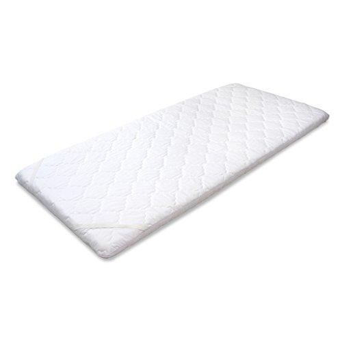 MSS® Matratzenauflage/Topper mit Noppen-Struktur und gesteppten Bezug - 80 cm x 190 cm - 6 cm hoch