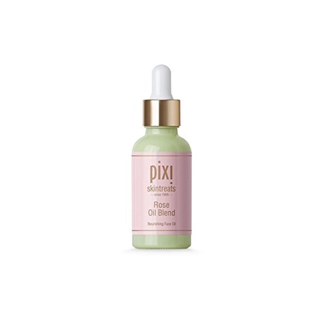 ゴムダイジェストテスピアンPixi Rose Oil Blend (Pack of 6) - は、油ブレンドをバラ x6 [並行輸入品]