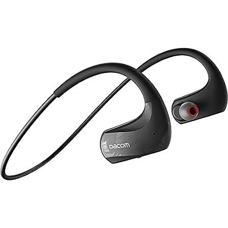 DACOM Bluetooth イヤホン スポーツ ワイヤレス 耳掛け型 ヘッドホン 20時間連続使用可能 カナル型 ヘッドセット IPX7防水 汗を防ぐ 運動落ちにくい 進化版Bluetooth5.0イヤホン ワンボタン タッチ式 AAC 高音質 軽量 耳にフィット 快適 装着感 Type-C充電 Siri対応 多機種対応 ビジネス会議 雑音を減らす 技適認証済 使い簡単 収納便利 通勤通学