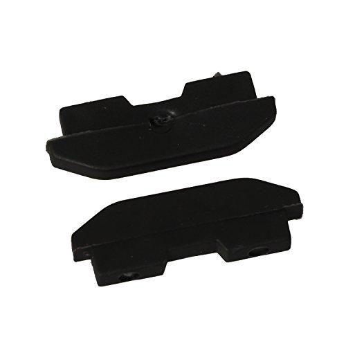 Timorn Host Silikon Gummi Füße Deckel Ersatzteile für PS4 CUH-1200 Serie Konsole (2 Paar)
