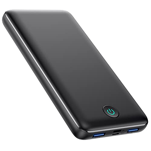 Portable Charger Power Bank 30800mAh Ultra-High Capacity 25W PD Fast Charging + QC4.0 Quick Phone Charging 3 Outputs &2 Inputs External Battery Pack Compatible with iPhone, iPad,Android etc