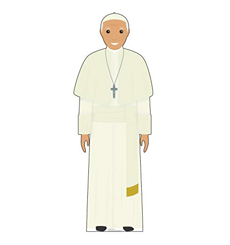 Advanced Graphics Pope White Outfit (Illustrated) Life Size Cardboard Cutout Standup