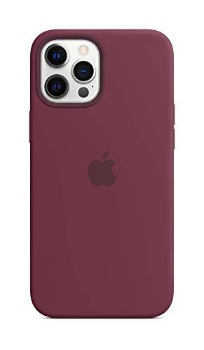 Apple Funda de Silicona con MagSafe (para el iPhone 12 Pro MAX) - Ciruela - 6.68 Pulgadas
