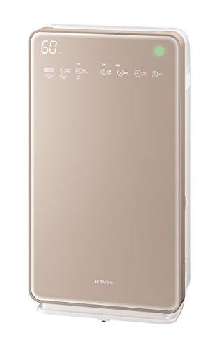 日立 加湿空気清浄機 クリエア ~42畳 自動おそうじ機能付き スピード集塵 PM2.5対応 EP-MVG90 N シャンパン