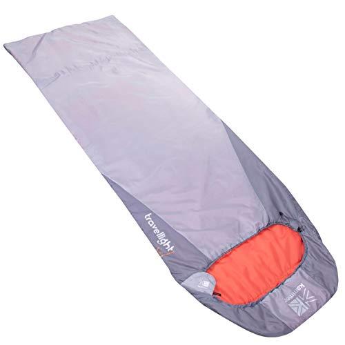 Karrimor - Saco de dormir de viaje, color gris