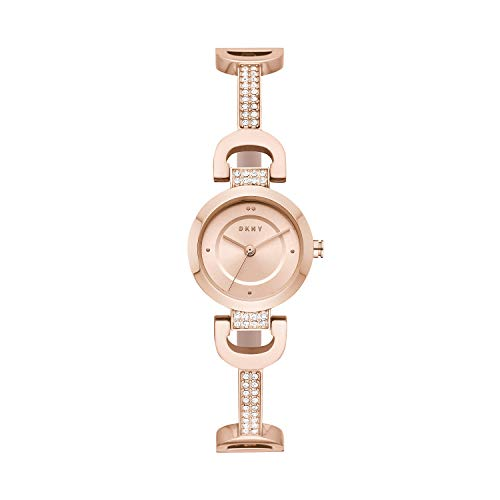 DKNY City Link Reloj de Cuarzo Oro rosá