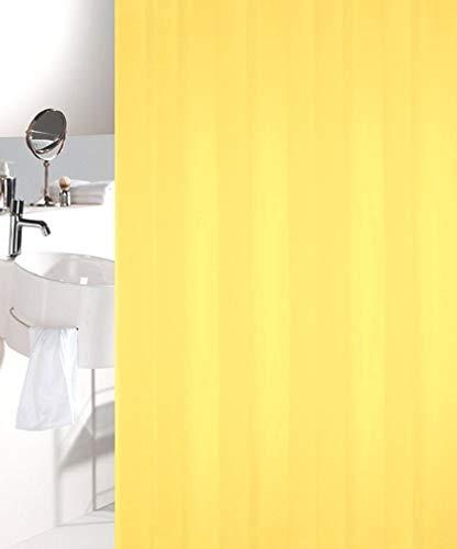 Tuffi Solo Gelb/Yellow Duschvorhang 120x200cm. Textil
