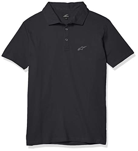 Alpine Stars Perpetual Polo Shirt Black