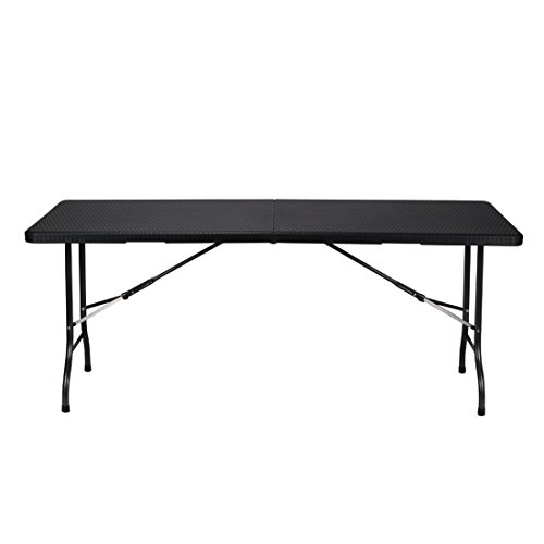 PEREL FP180R Table Pliante Multicolore 180 x 75 x 74 cm