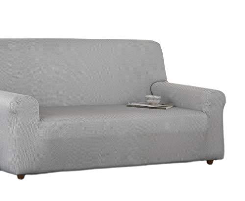 Estoralis Sari Funda de sofá elástica, Tela, Gris, 2 Plazas