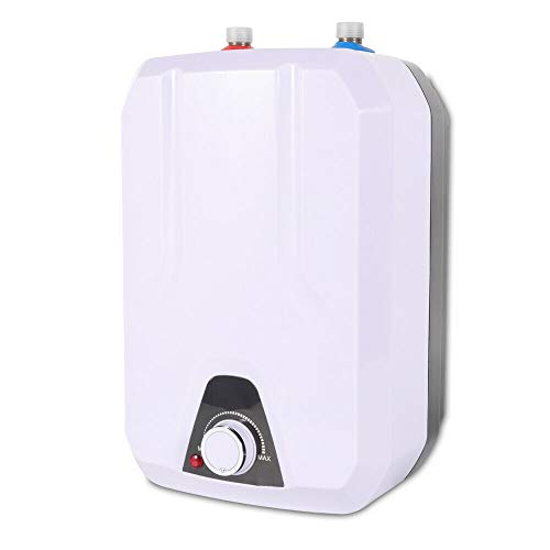 CNCEST Electric Instant Tankless Water Heater Waterproof Mini Hot Water Heater Portable Water Heating for Bathroom Kitchen Sink Hotel Toilet 1500w
