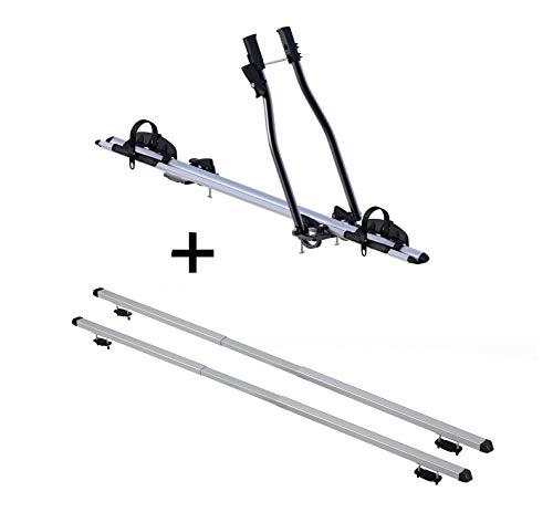 VDP Fahrradträger SAGITTAR + Dachträger Rapid kompatibel mit Nissan Qashqai (J10) (5Türer) 06-14