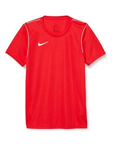 NIKE M Nk Dry Park20 Top SS Camiseta de Manga Corta, Hombre, University Red/White/White, L