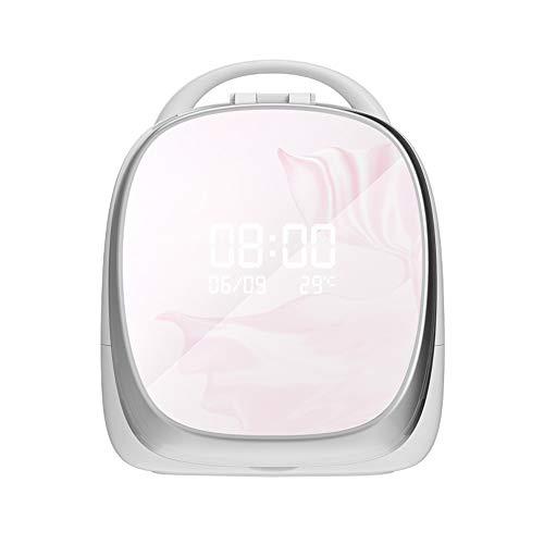 ZHHAOXINCO Mooie make-up organizer, cosmetica opbergen, instelbaar LED-licht, oplaadbaar, 1000 mAh lithium batterij, voor commode, slaapkamer, badkamer of vriendin