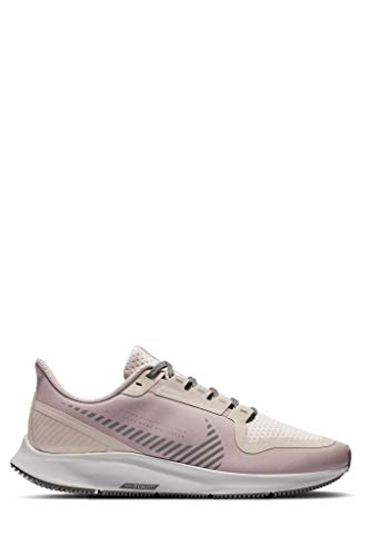 Nike Mujeres Air Zoom Pegasus 36 Shield Running Trainers AQ8006 Sneakers Zapatos (UK 6.5 US 9 EU 40.5, Plum Chalk Barely Rose 500)