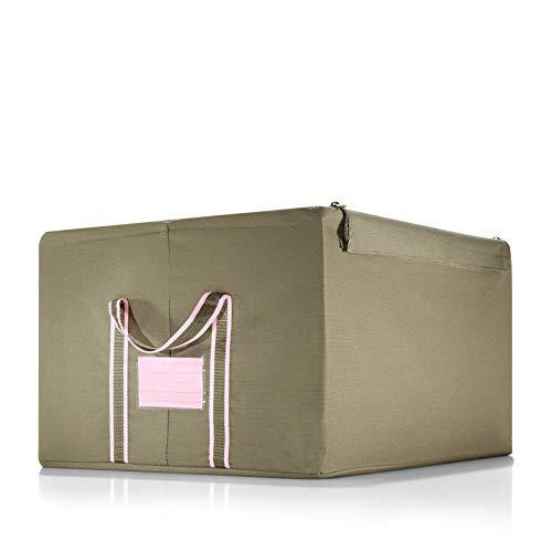 reisenthel storagebox L khaki Maße: 50,5 x 28,5 x 40 cm / Volumen: 60 l