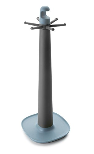 Ibili 740630 Norway houder voor bloempot, kunststof, blauw, 39 x 15 x 15 cm