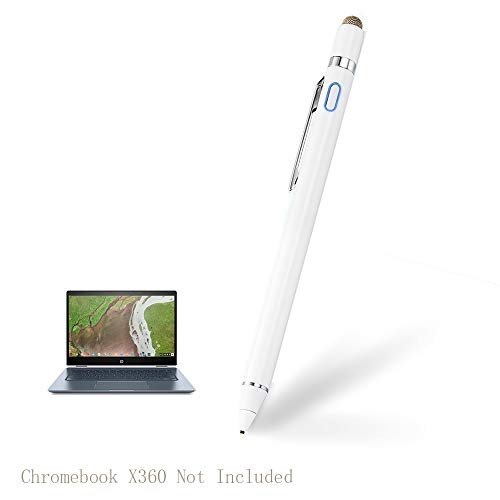 Stylus for HP Chromebook X360 Pen, EDIVIA Digital Pencil with 1.5mm Ultra Fine Tip Pencil for HP Chromebook X360 Stylus, White