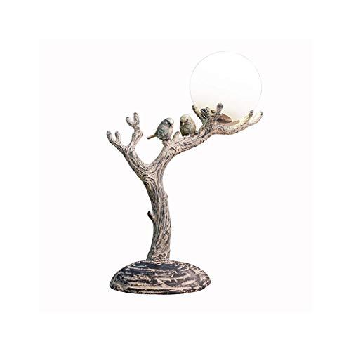 Huoqiin Tafellamp slaapkamer bedlampje warm dimbare decoratieve lamp