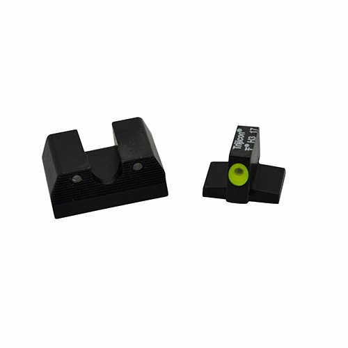 Trijicon FN602-C-600885 HD XR Night Sight Set, Fnh Fns-9, FNX-9 & Fnp-9, Yellow Front Outline Lamp