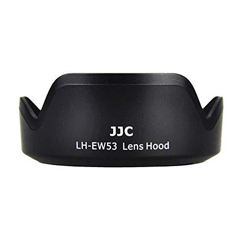 Gegenlichtblende für Canon EF-M 15-45 mm f/3.5-6.3 IS STM Objektiv auf Canon EOS M5 M50 M6 M6 Mark II M10 M100 M200 DSLR-Kamera, ersetzt Canon EW-53 Gegenlichtblenden