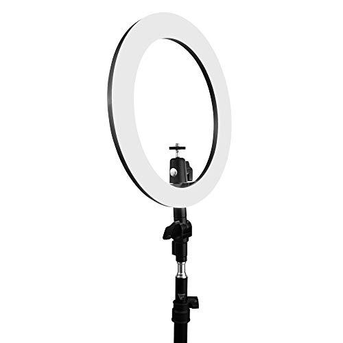 Game Factor Aro Luz Led con Tripie para Celulares Webcam Stream Maquillaje Lrg300