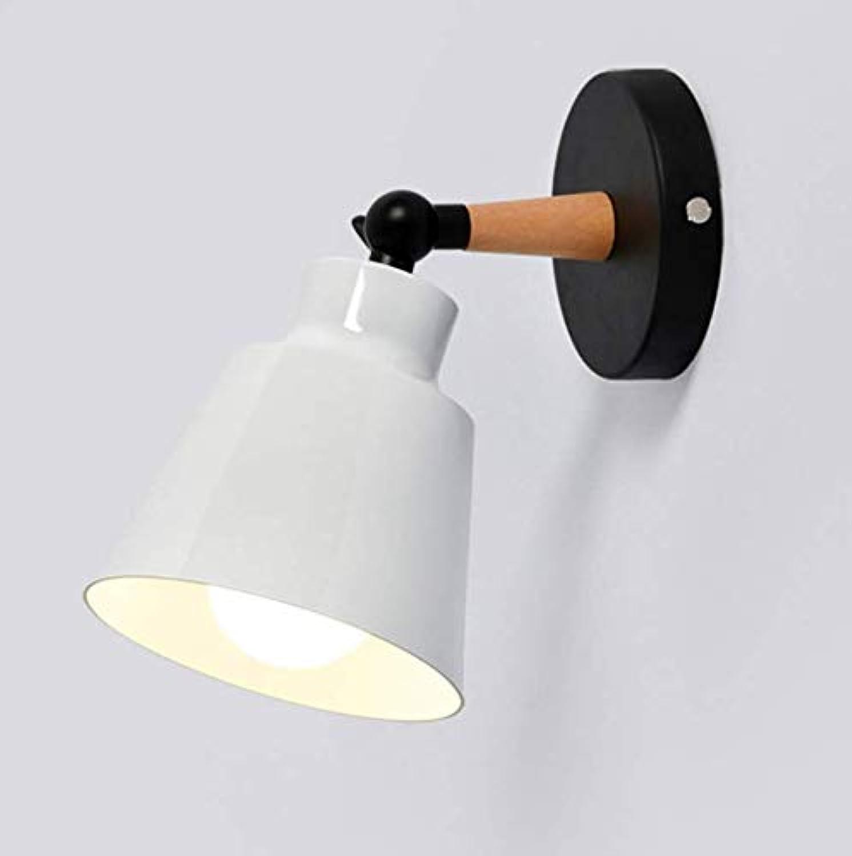 Nordic weie Schlafzimmerwandlampe nahe bei LED beleuchtet Makronen moderne E27 Wandlampe LED-Restaurantbarbeleuchtung