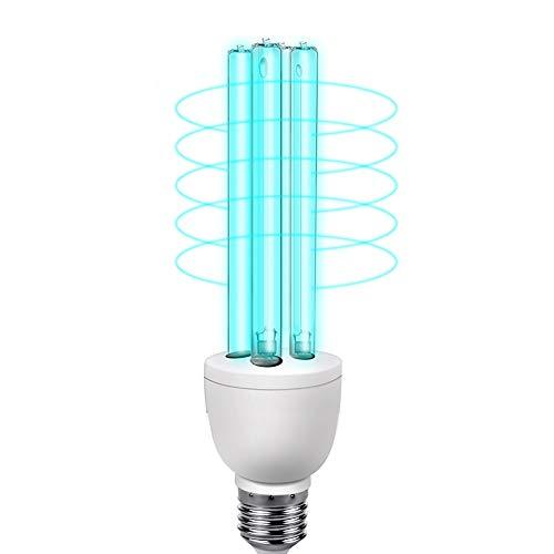 15W UV Sterilisator Lamp, Ozone LED E27 UV-lampen Bollen UVC lichtpunt luchtfilter voor huis huishouden Huisdieren