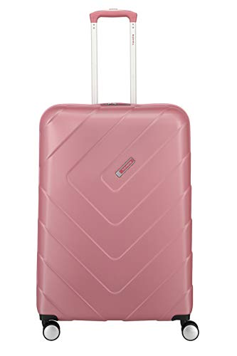 """Travelite Hartschalen-Koffer-Serie """"KALISTO"""" von travelite in 4 Farben: topmodisch, elegant, robust, 76 cm, 106L, Rosé"""