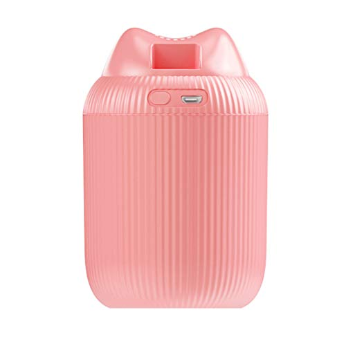 250ML Portable Mini Humidifier,USB Interface,Colorful Night Light Mute Cat Style for Car Baby House