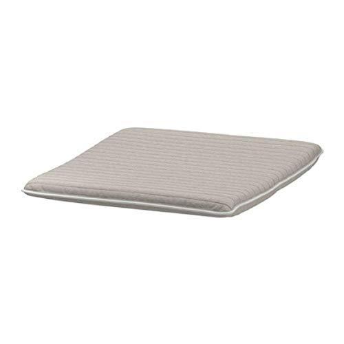 Ikea Poang 703.951.59 - Cuscino ottomano Knisa, colore: Beige chiaro