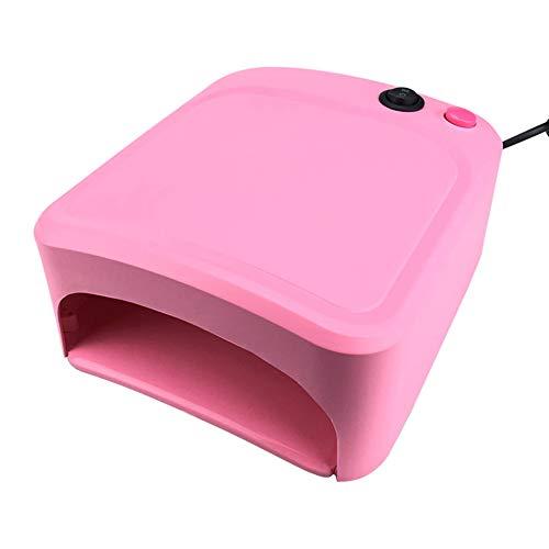 Lampes UV Lampe de photothérapie à LED multifonctionnelle Nail Shop Home Nail Tool 120s Machine à ongles à double usage pour main et pied 110 / 240v,Red