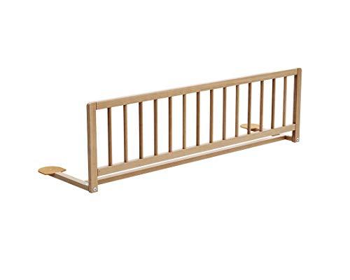 Barrière de lit ESSENTIEL Hêtre vernis