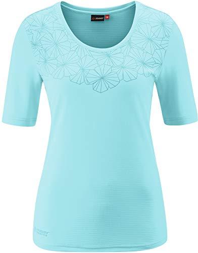 Maier Sports Irmi T-Shirt Femme, Angel Blue Modèle DE 44 2020 T-Shirt Manches Courtes