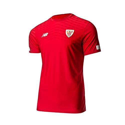 New Balance - Athletic Bilbao Camiseta Calentamiento RO 19/20 Hombre Color: Rojo...