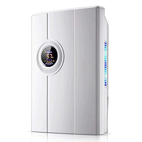 Déshumidificateur Compact idéal pour Les Maisons Bureaux et dépendances 2,2 litres Blanc