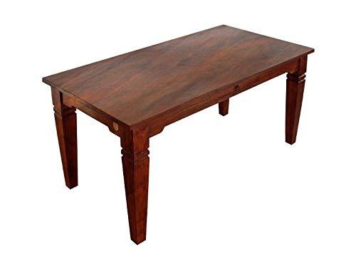 MASSIVMOEBEL24.DE Kolonialstil Esstisch 160x90 Akazie Holz massiv Oxford SUNO #603