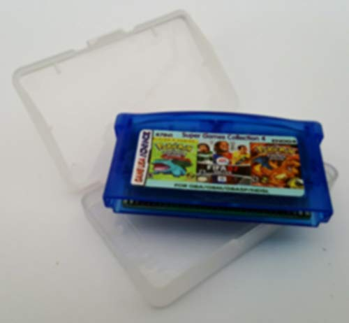 47 in 1 GBA Multicart Compatible for Gameboy Advance Video Games GBA GBM GBASP