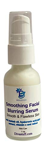 Smoothing Facial Blurring Serum With Hyaluronic Acid, Algae Extract, Vitamin c and Retinol, By Diva Stuff