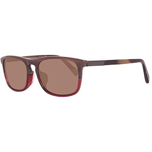 Ermenegildo Zegna Sonnenbrille EZ0045-F 65J 56 Gafas de sol, Multicolor (Mehrfarbig), 55 para Hombre