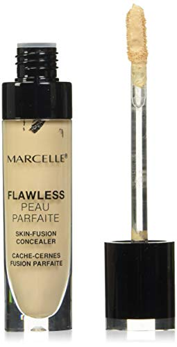 Marcelle Flawless Concealer, Light to Medium, Hypoallergenic and Fragrance-Free, 0.18 fl oz