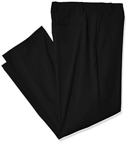 Callaway Pantalón de Golf Ligero para Hombre con Cintura elástica Activa, Hombre, Pantalones, CGBS70Q9, Caviar, 42W / 30L