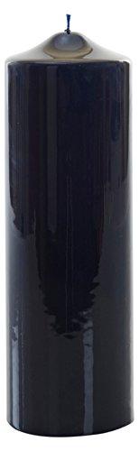 Meloria MEC3C-E Classic donkerblauwe lak gedrenkt Pijler Kaars 80 x 240 mm