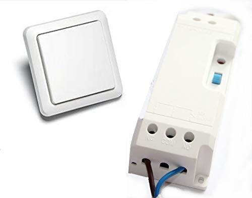 Funk-Türöffnermodul für elektrische Türöffner im Set mit Funk-Wandsender YWT-8500 von Intertechno