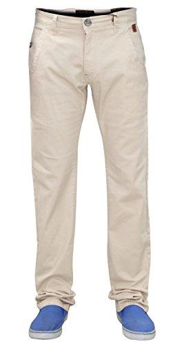 Jack South - Pantalones vaqueros con cremallera para hombre